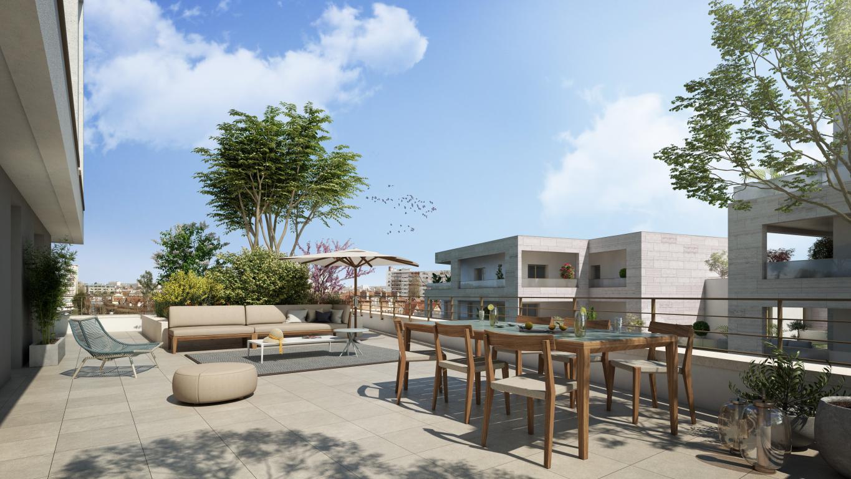 Vue terrasse B302