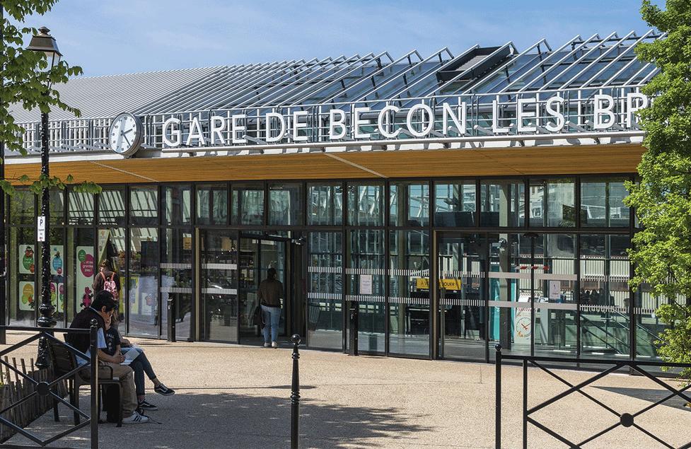 Gare SNCF de Bécon-les-Bruyères