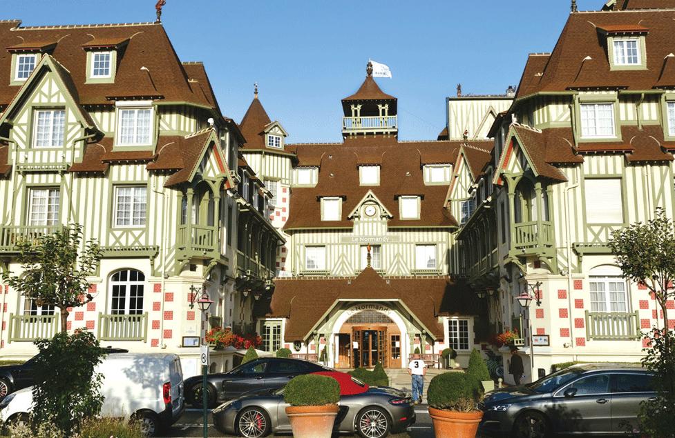 Hotel Normandie Deauville
