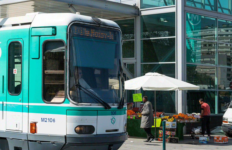 Station metro - Les Agnettes