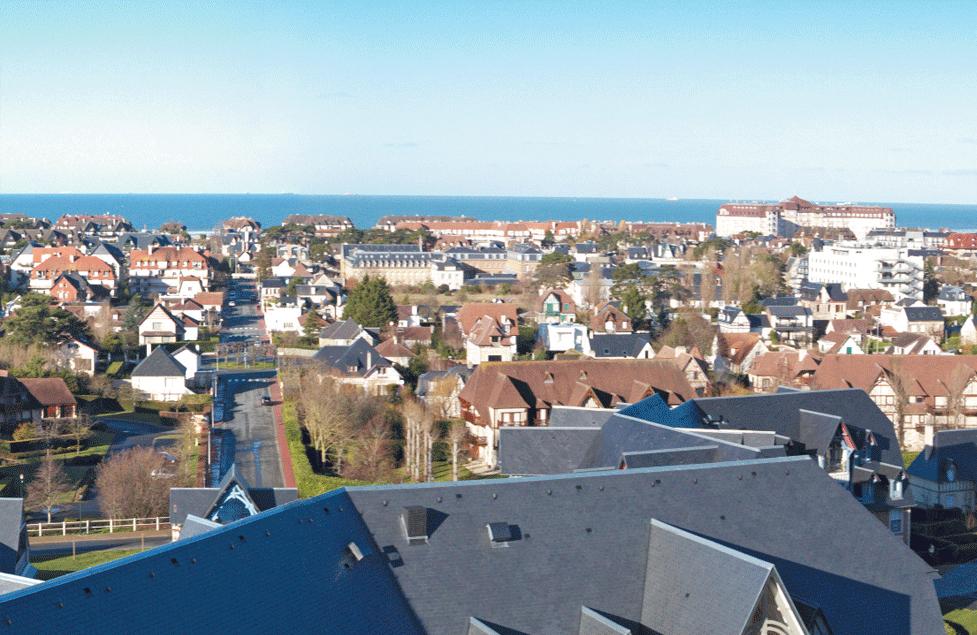 Panorama vue mer - Deauville